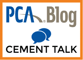 PCA Blog Cement Talk