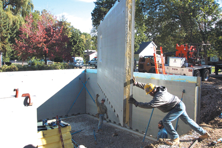Precast Home Construction